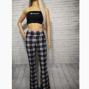 Pants - Plaid Bell Bottoms